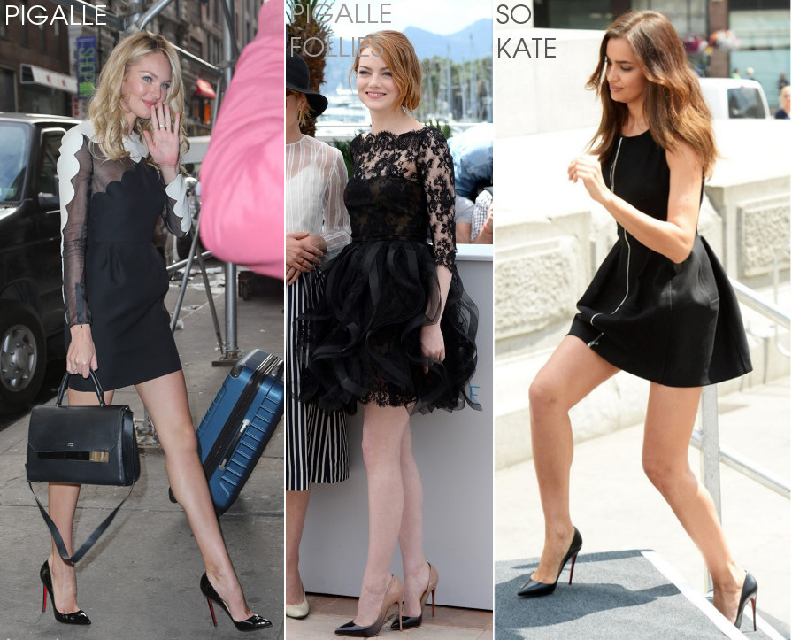 Celeb with Pigalle vs Pigalle Follies vs So Kate
