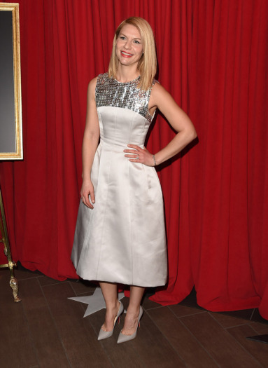 Claire Danes Wearing Christian Louboutin Pigalle Pumps