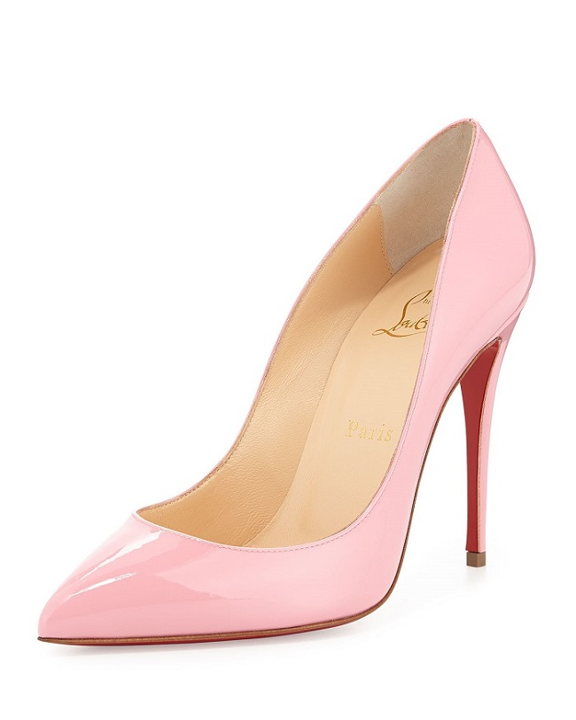 Christian Louboutin pink pigalle follies